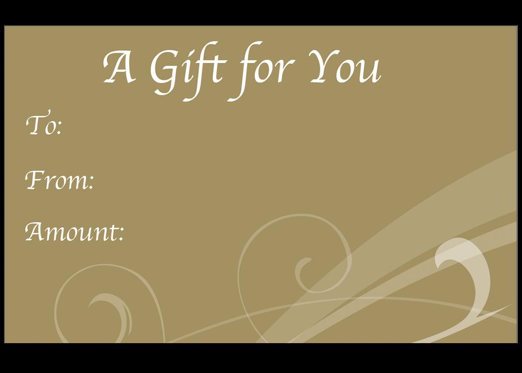 Metallic Gold Mini Envelope