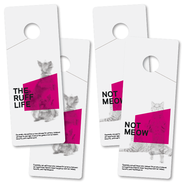 Pet In Room Door Hanger Aloft