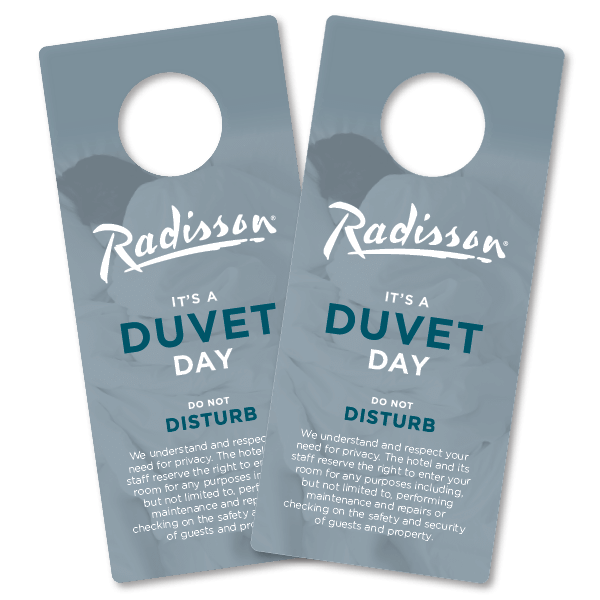 DND Door Hangers Radisson 2