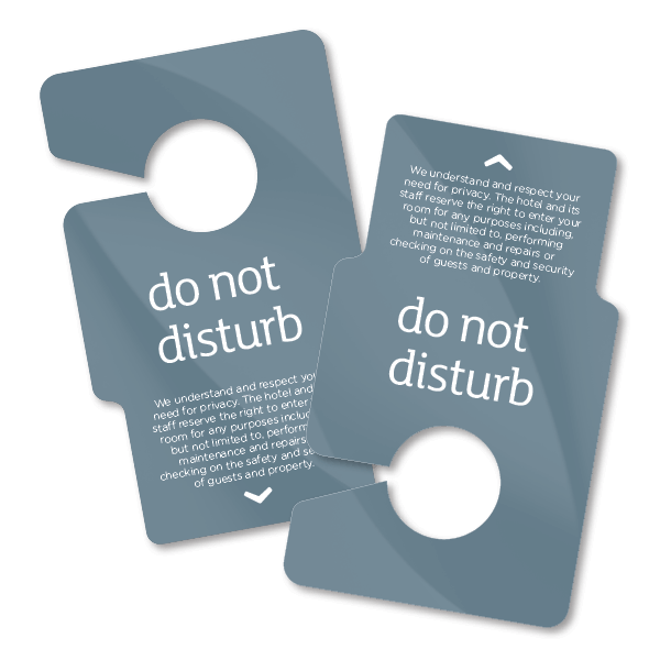 DND Door Hangers Radisson