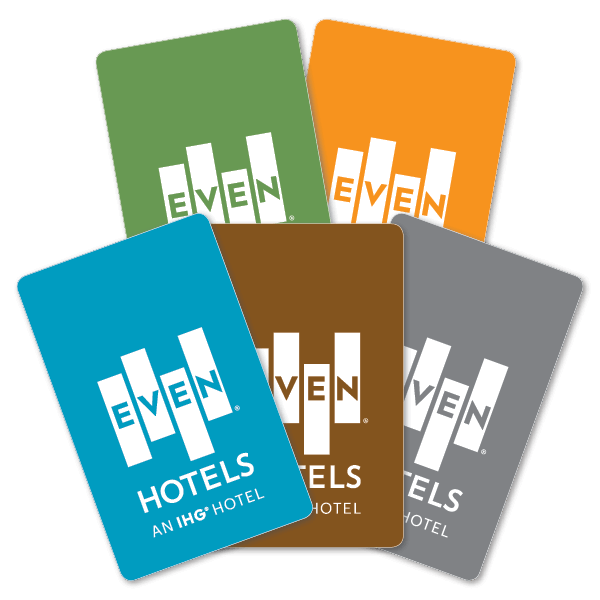 Key Card Even Hotels