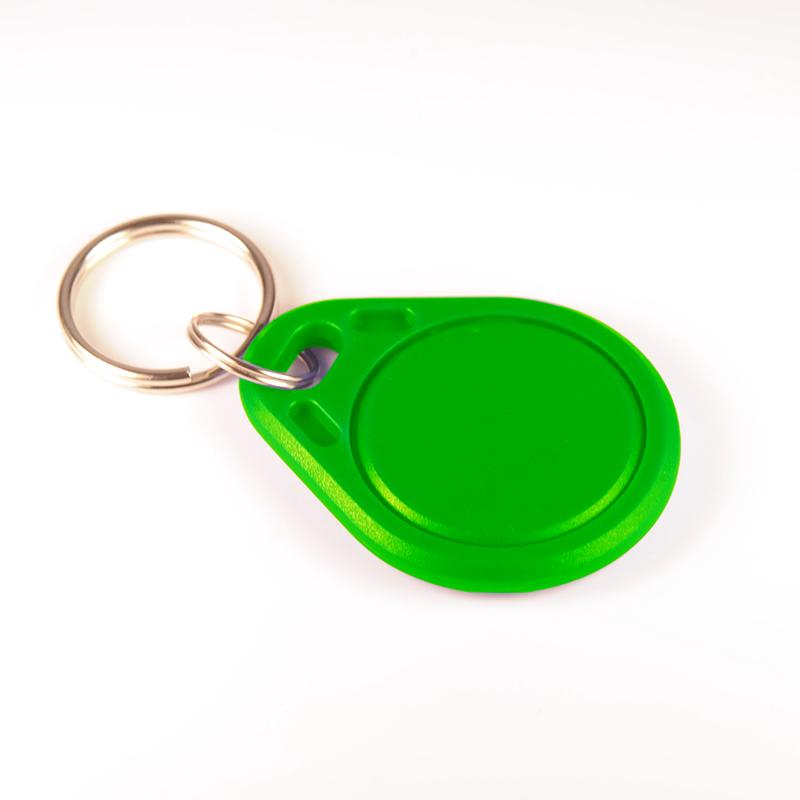 Green RFID Key Fob