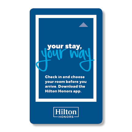 Key Card Hilton Honors