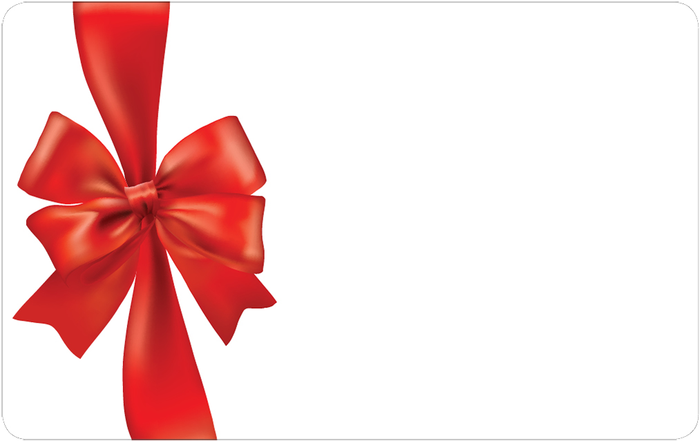 Red Bow Holiday Card