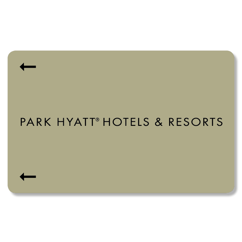 Key Card Park Hyatt
