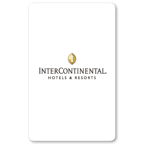 Key Card Intercontinental Hotel
