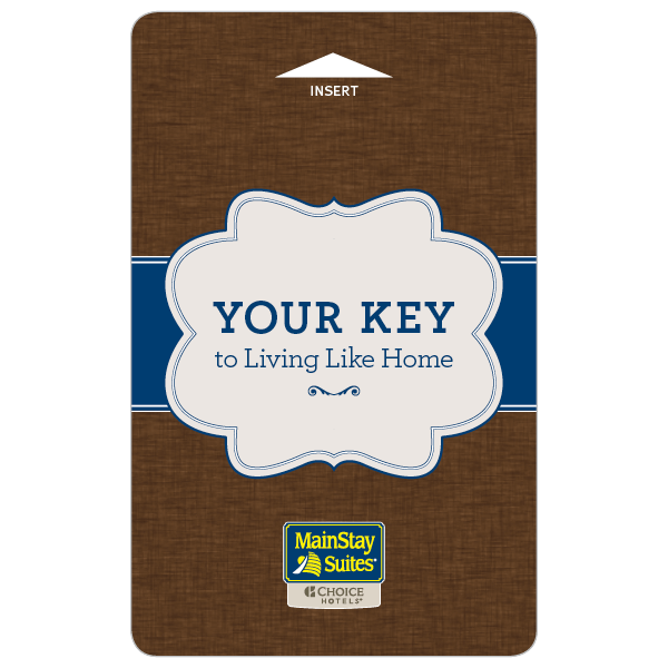 Key Card Mainstay Suites