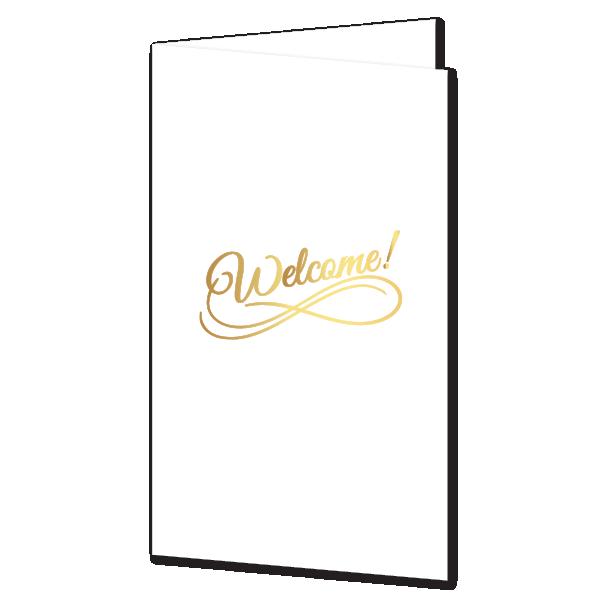 Presentation Folder Welcome Boutique