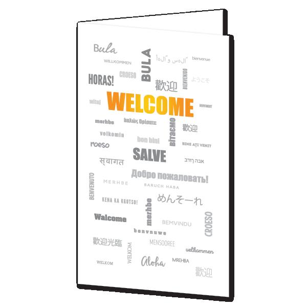 Presentation Folder Welcome International