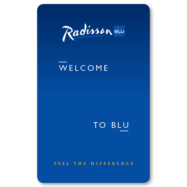 Key Card Radisson Blu