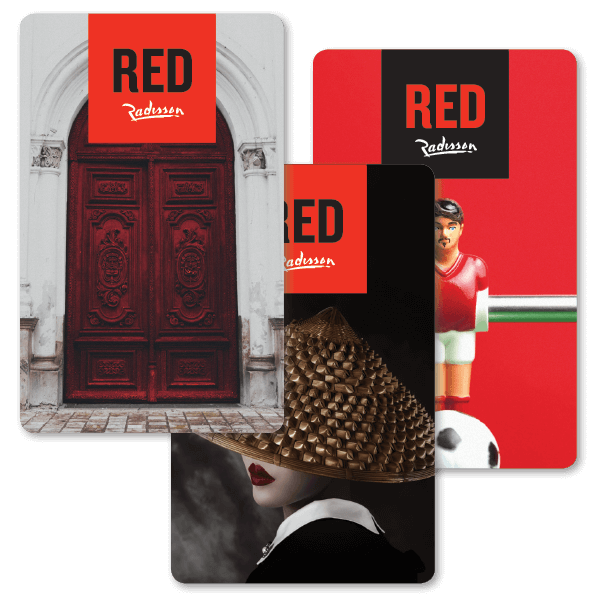 Key Card Red Radisson