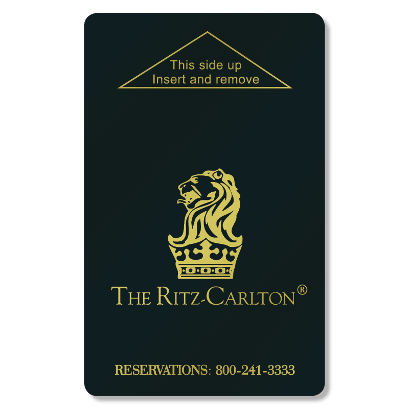 Key Card Ritz-Carlton 2