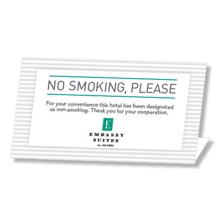 No Smoking Embassy Suites