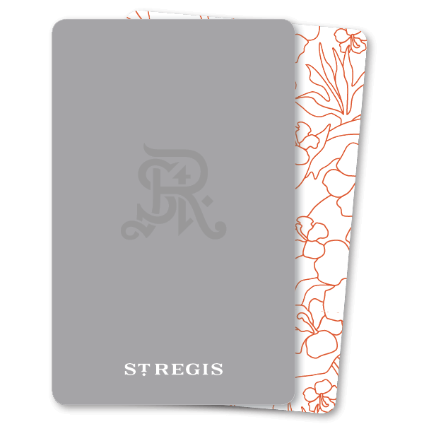 Key Card St. Regis 4