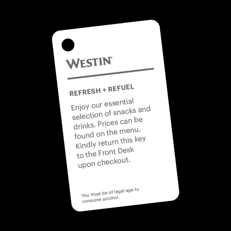 Westin Minibar Card
