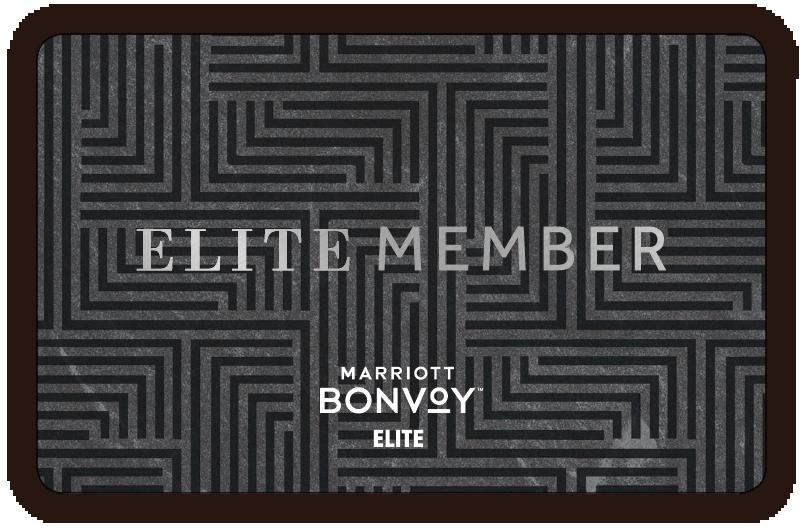 Marriott Hotels Elite Key Card