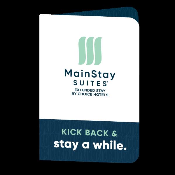 Mainstay Suites Key Card Folder