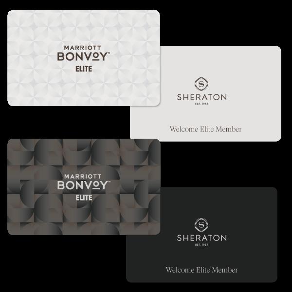 Sheraton Elite Member Key Card